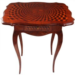 Fine Louis V Marquetry End Table