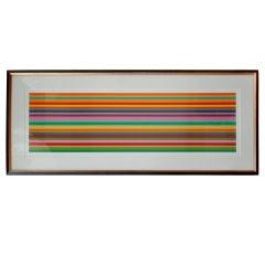 """Quartet II"" Lithograph by Kenneth Noland, 2001"