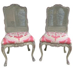 Superb Pair of Italian Side/Dining Chairs