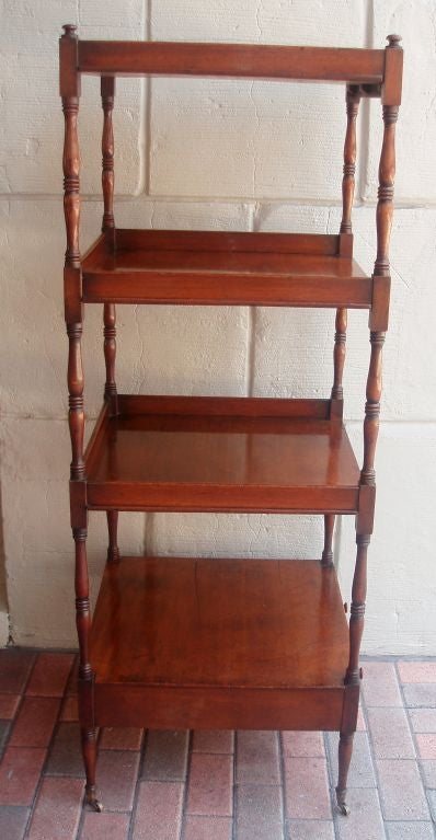 English Regency Etagere For Sale