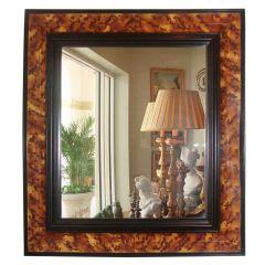 Decorative Faux Tortoiseshell Finished Mirror