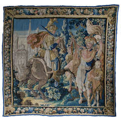 Flemish Tapestry from 17th-18th Century