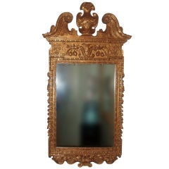 Carved and Gilded Georgian Style Mirror