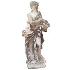 Gorgeous Cast Stone Italian Statue