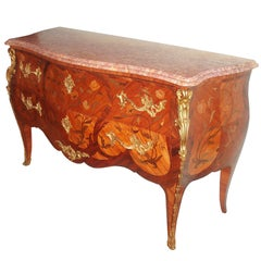Louis XV Style Ormolu-mounted Commode
