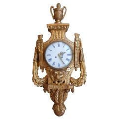 Louis XVI Cartel Clock