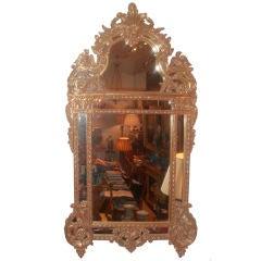 Regence Style Giltwood Framed Mirror