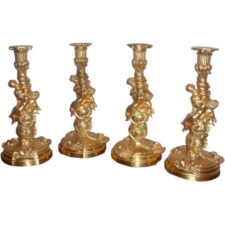 Set of Candlesticks