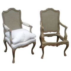 Pair of 18th Century Style Armchair in the Italian Taste
