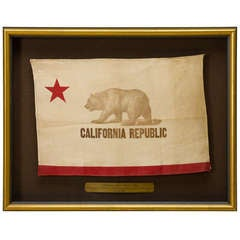 Early California State Bear Flag