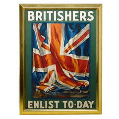 1917 Original British Recruitment Rail Office Poster by Guy Lipscombe