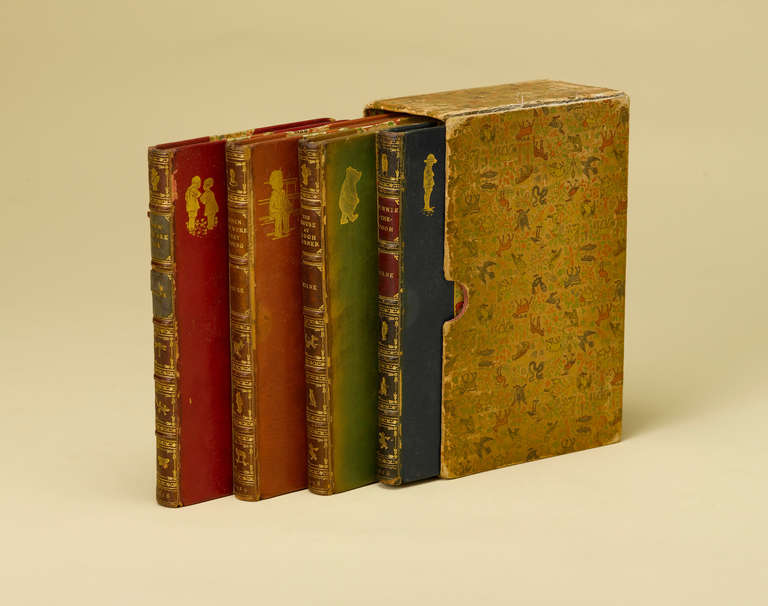Christopher Robin and Winnie the Pooh Complete Set of Books in Period Bindings 3