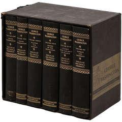 """George Washington, a Biography"" by Douglas Southall Freeman, Six Volumes"