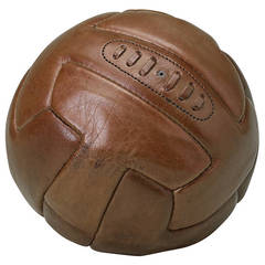 "Vintage Leather ""Soccer"" Football"
