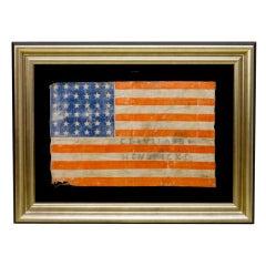 "36-Star ""Political Campaign"" Civil War Era American Flag"