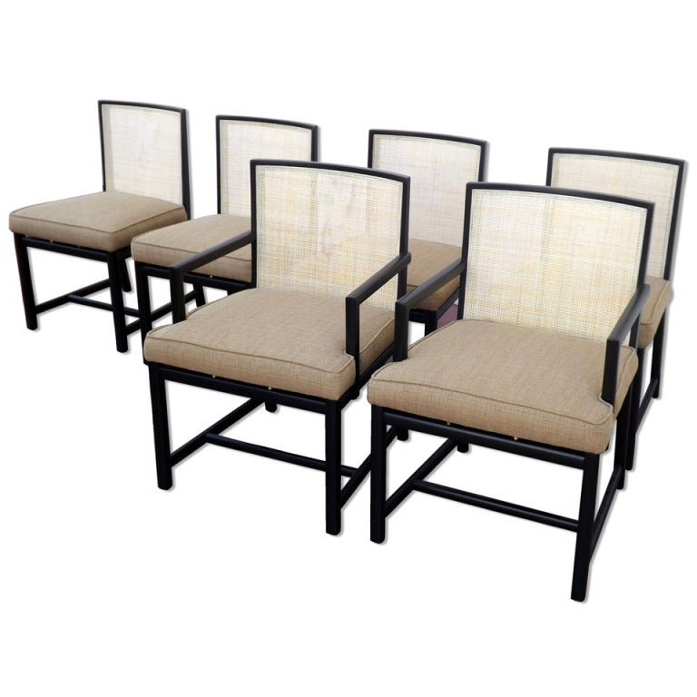 michael for baker quot new world quot dining chairs at 1stdibs