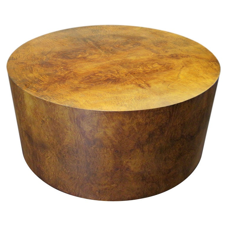 Drum Coffee Table By Milo Baughman For Thayer Coggin At 1stdibs