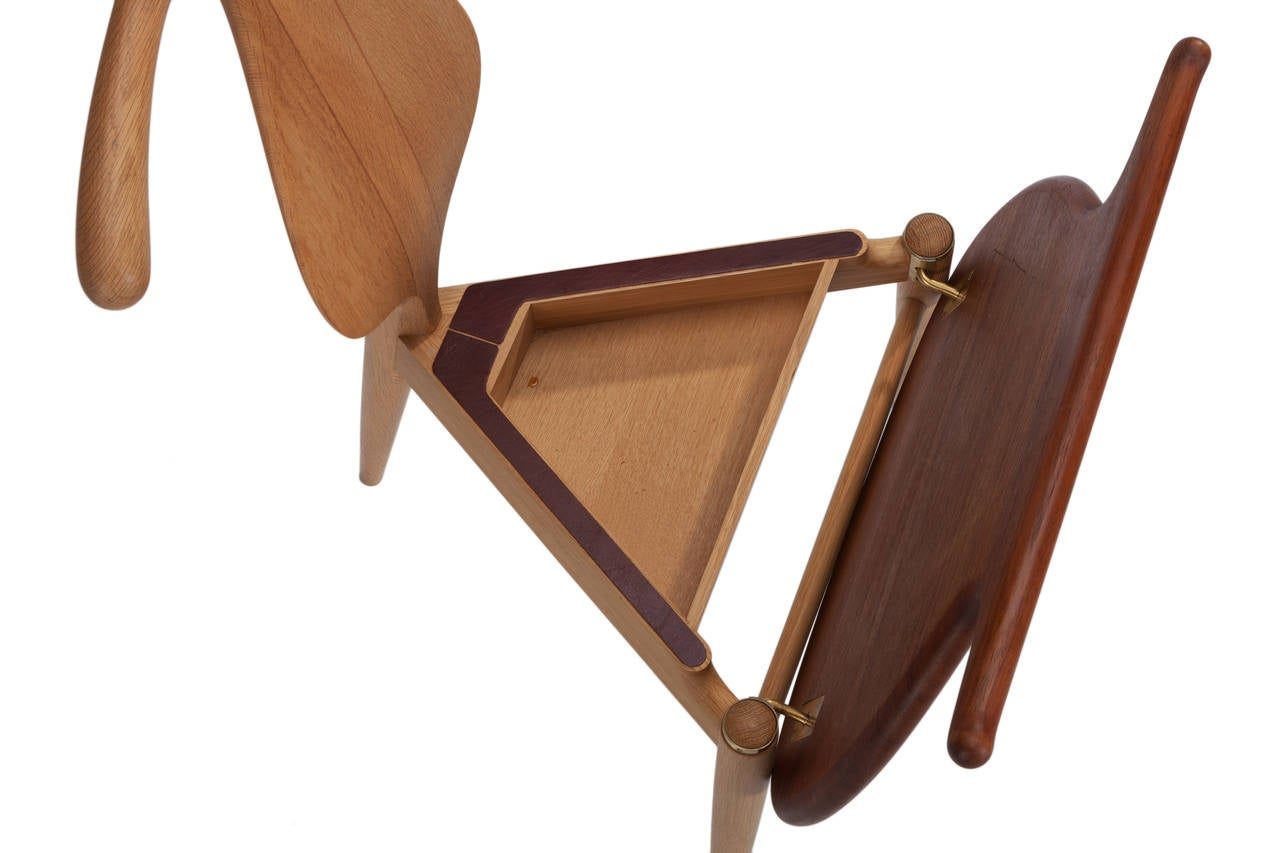 Hans Wegner Valet Chair For Johannes Hansen At 1stdibs