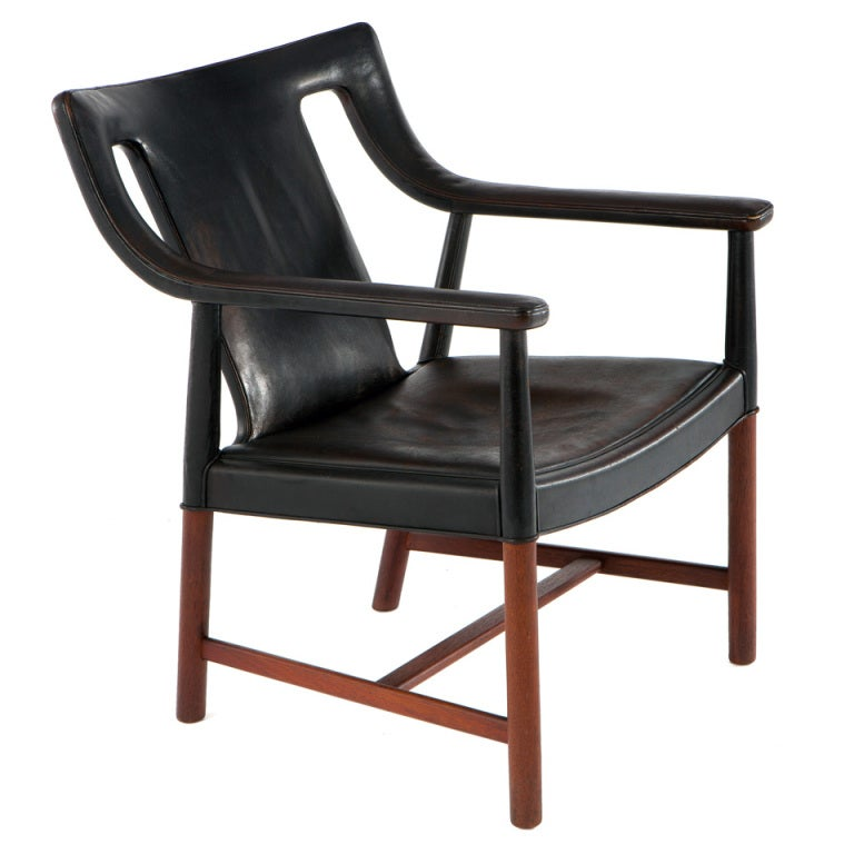 Lounge Chair by Ejner Larsen & A. Bender Madsen