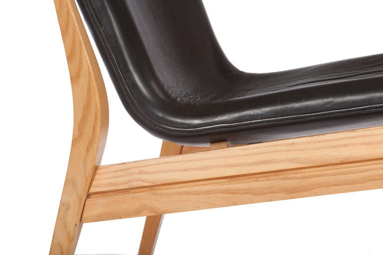 Mid-20th Century Danish Lounge Chair by Karen and Ebbe Clemmensen For Sale