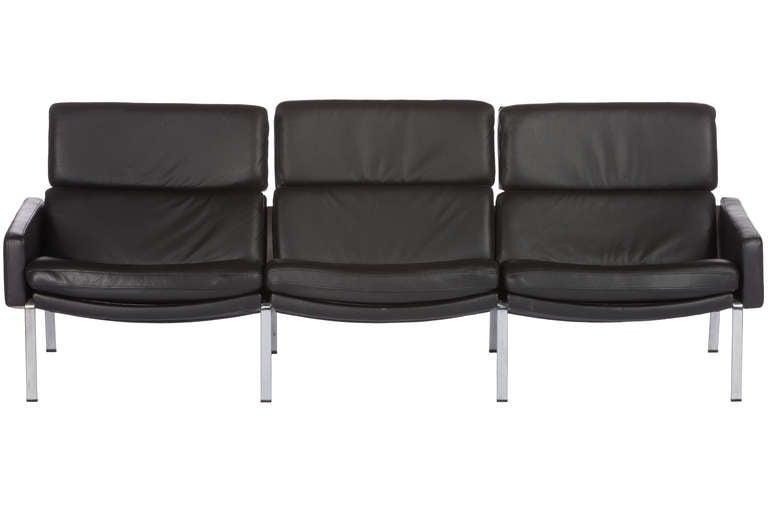 Scandinavian Modern Sofa Designed By Preben Fabricius and Jørgen Kastholm For Sale