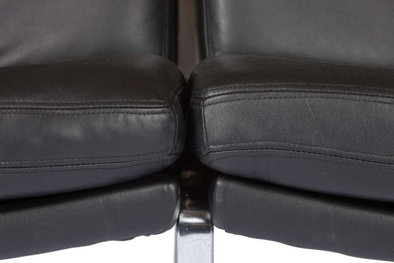 Steel Sofa Designed By Preben Fabricius and Jørgen Kastholm For Sale
