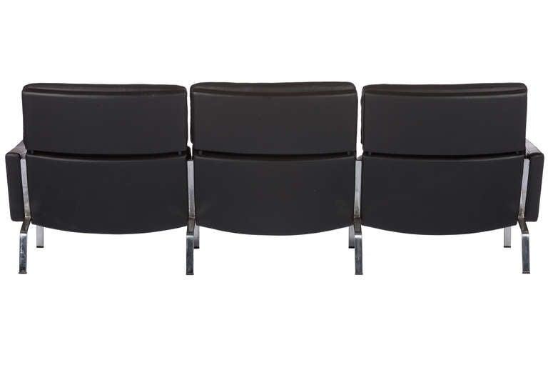 Danish Sofa Designed By Preben Fabricius and Jørgen Kastholm For Sale