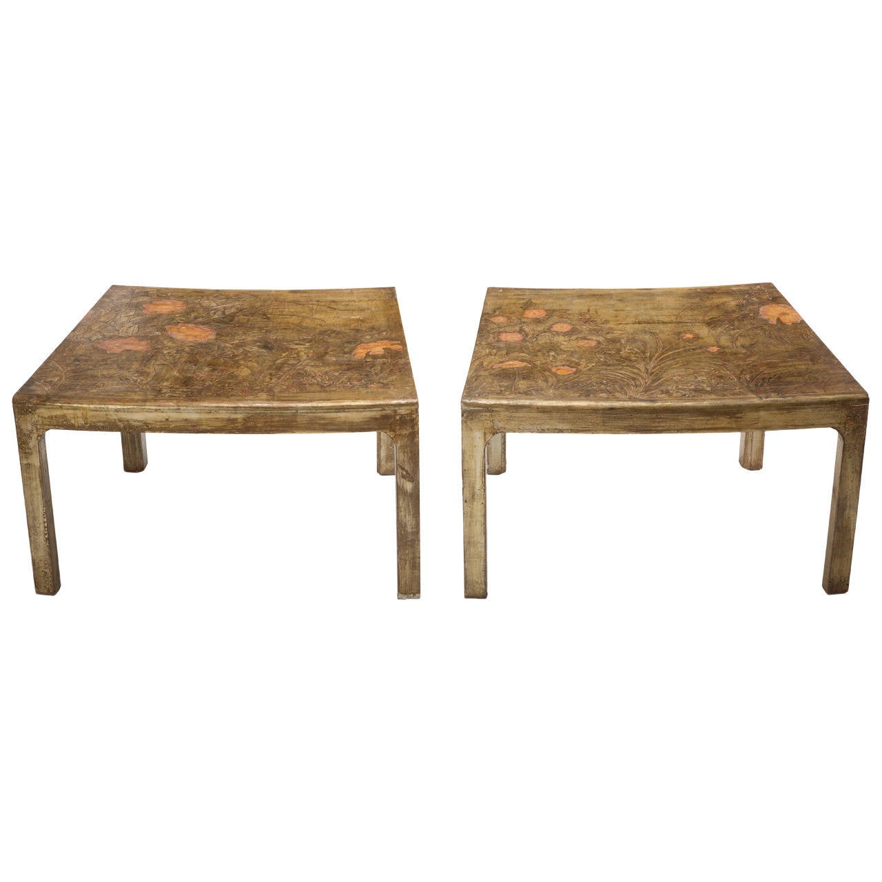 Pair of Max Kuehne Side Tables