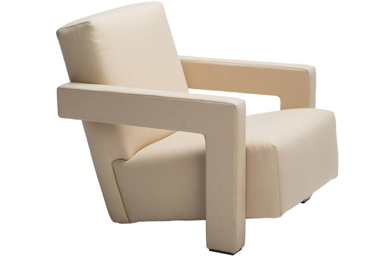 Quot Utrecht Quot Chair By Gerrit Rietveld For Cassina At 1stdibs