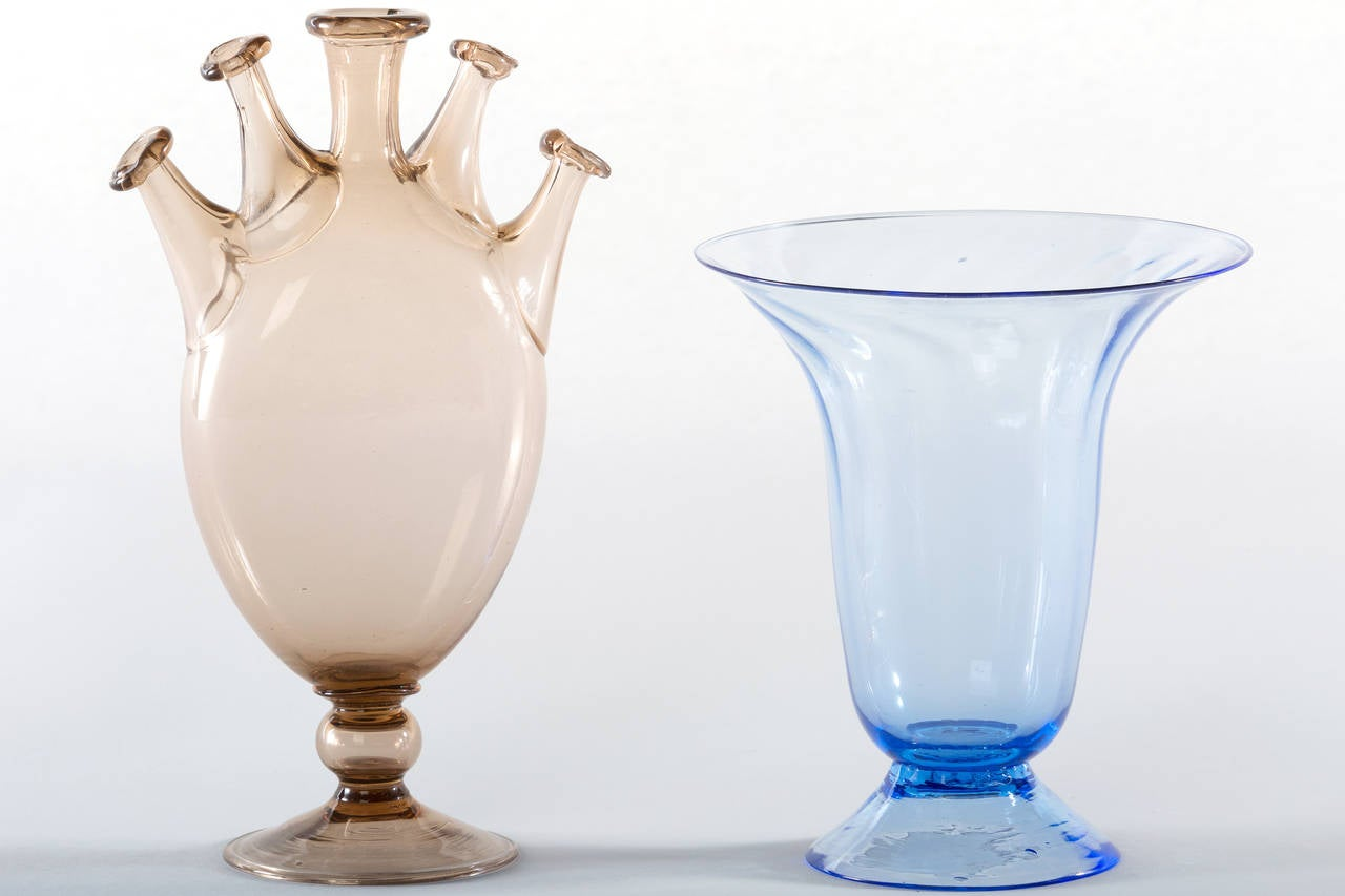 Collection of ten early italian glass vases venini 1900 1920 for modern collection of ten early italian glass vases venini 1900 1920 for sale reviewsmspy