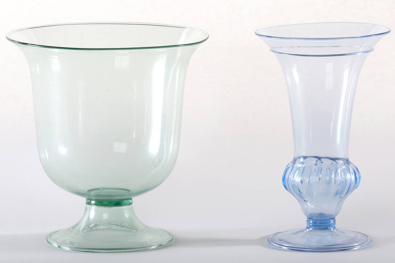Collection of Ten Early Italian Glass Vases, Venini, 1900-1920 For Sale 2