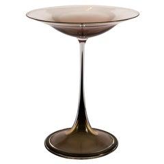 """Nils Landberg """"Tulip"""" Vase for Orrefors"""