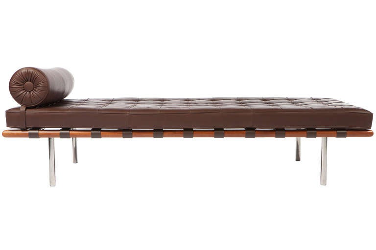 mies van der rohe daybed for knoll at 1stdibs. Black Bedroom Furniture Sets. Home Design Ideas