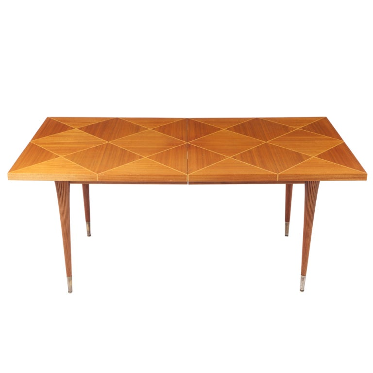 Tommi Parzinger Dining Table For Charak Modern For Sale