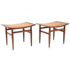 Pair of Stools by Kipp Stewart for Directional