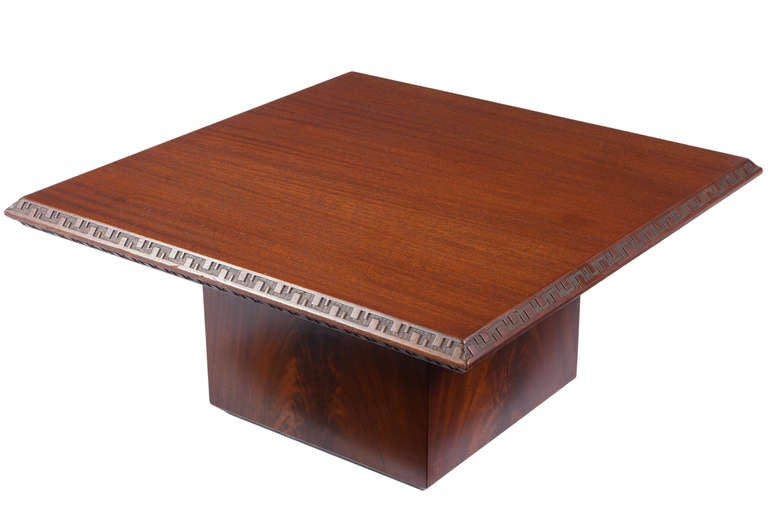 Pair of Frank Lloyd Wright Side Tables for Heritage Henredon 3