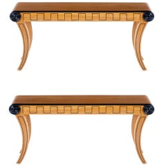Pair Of Neoclassical Swedish Benches