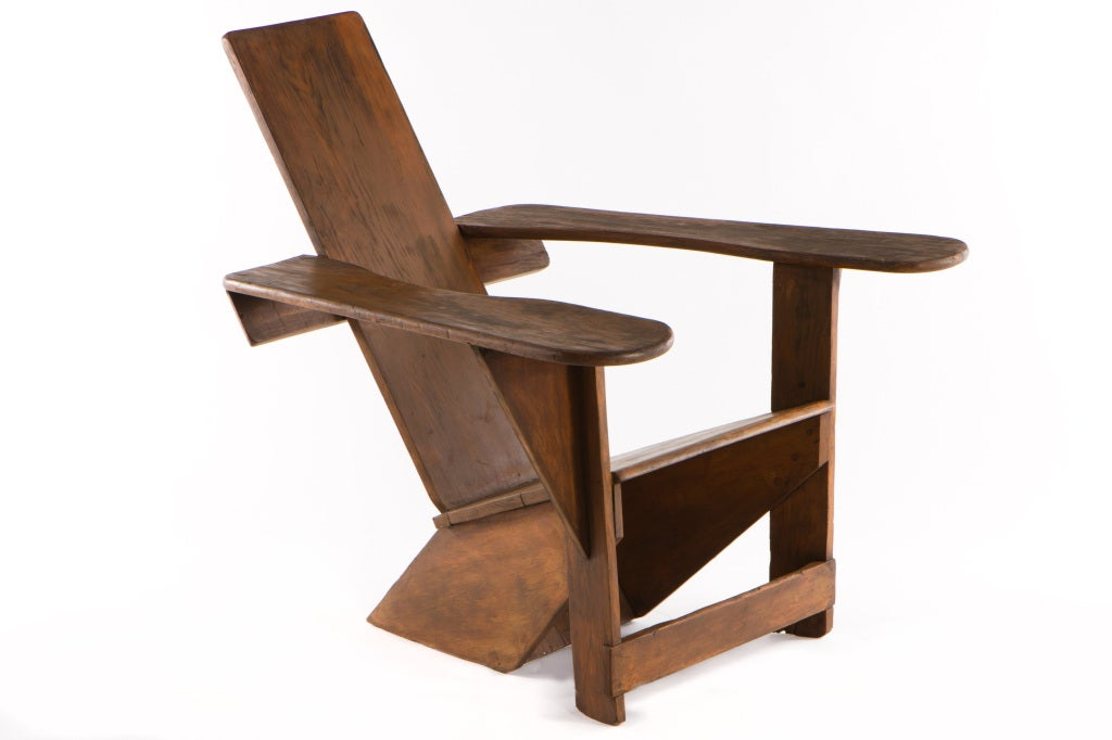 Pair Of Westport Chairs By Harry Bunnell At 1stdibs