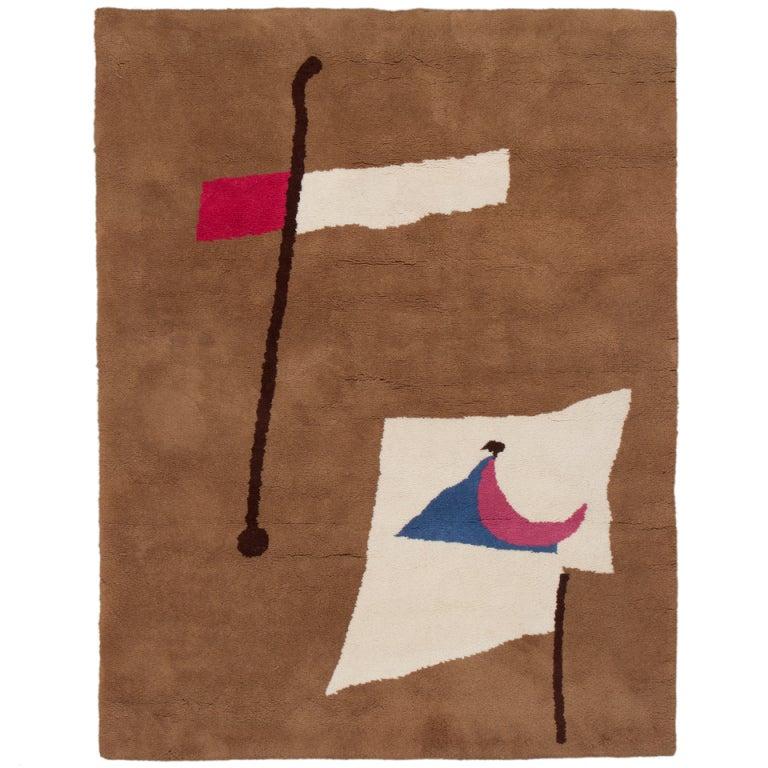 Joan Miro Carpet Or Tapestry