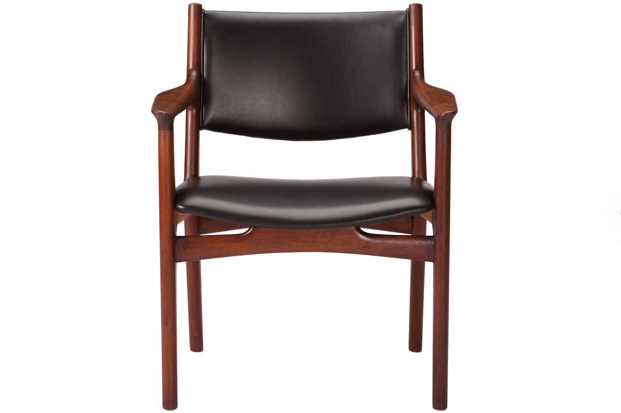 Set of ten hans wegner dining chairs for johannes hansen for Wegner dining chair