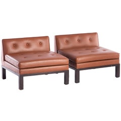 Custom Low Chairs by Edward Wormley