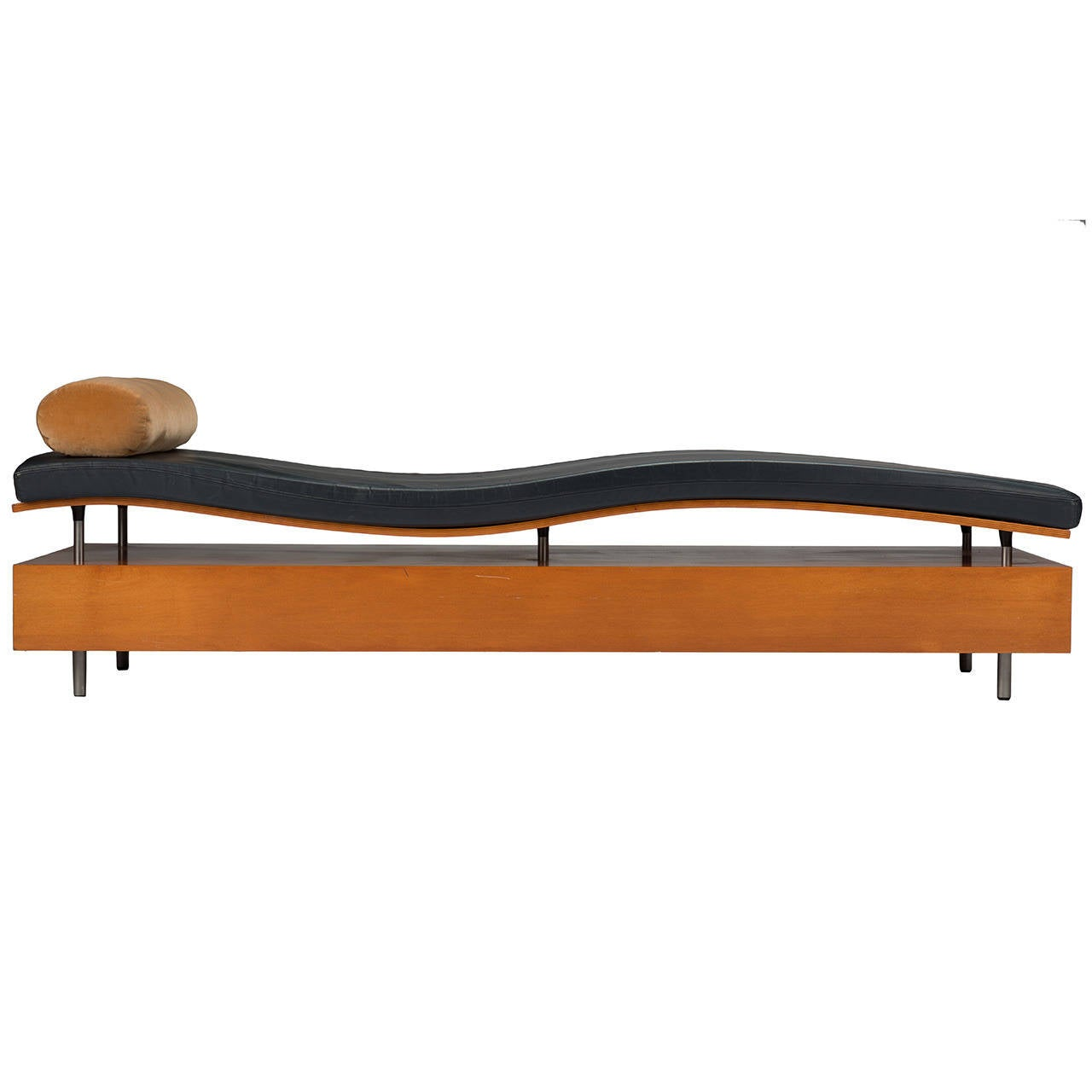 maya lin longitude chaise for knoll 1998 for sale at 1stdibs. Black Bedroom Furniture Sets. Home Design Ideas