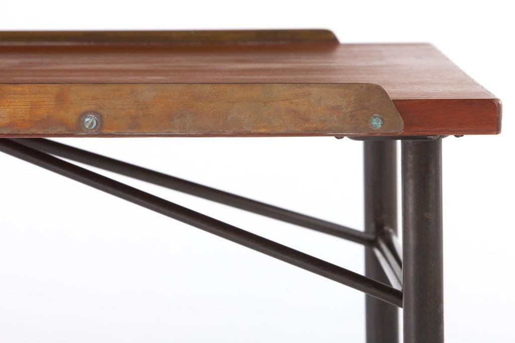 Steel Finn Juhl Bench For Sale