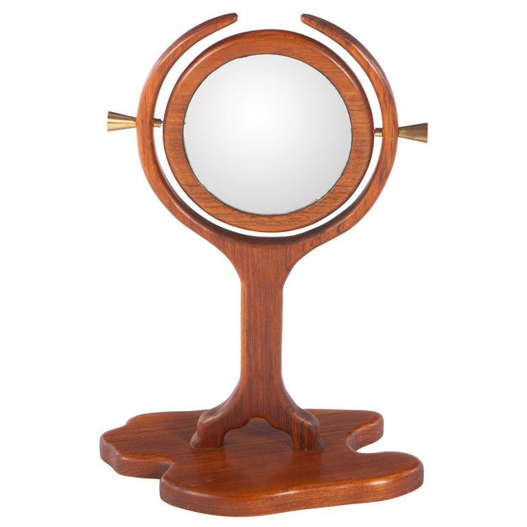 American Studio Craft Mirror For Sale
