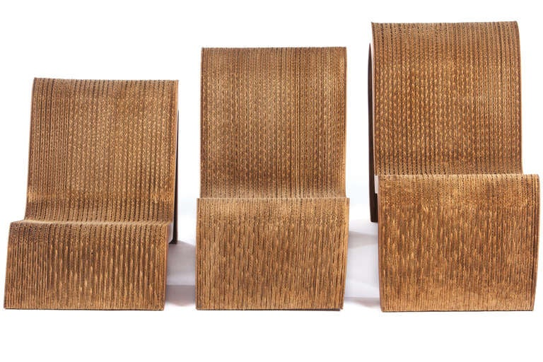 Frank Gehry Nesting Chairs For Easy Edges For Sale At 1stdibs