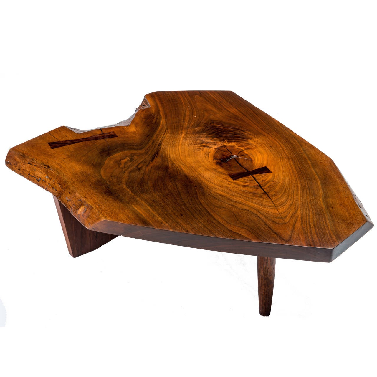 George nakashima coffee and cocktail tables 30 for sale at 1stdibs george nakashima conoid coffee table geotapseo Gallery