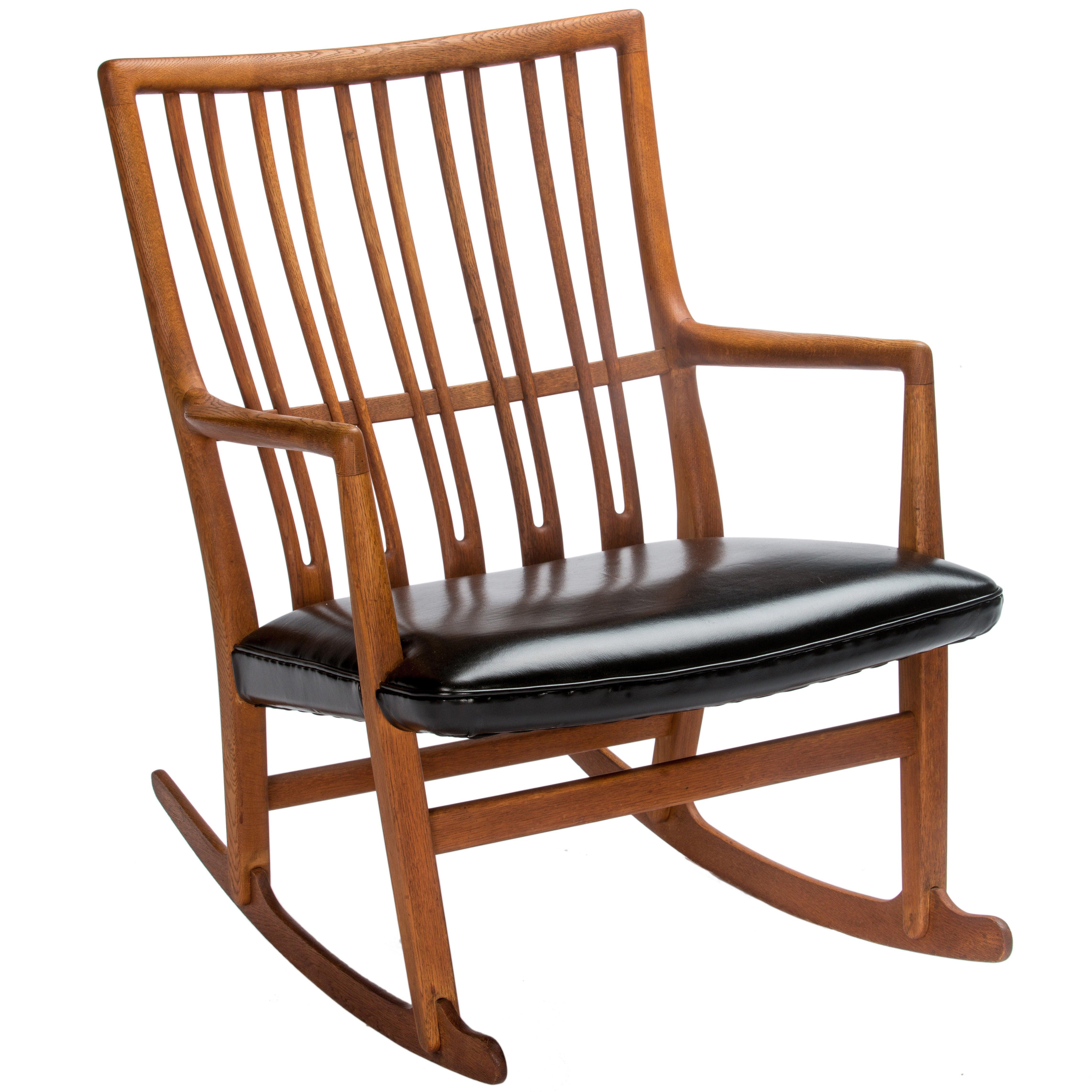 Hans Wegner for Mikael Laursen ML-33 Rocking Chair