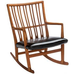Hans Wegner for Mikael Laursen ML-33 Rocking Chair