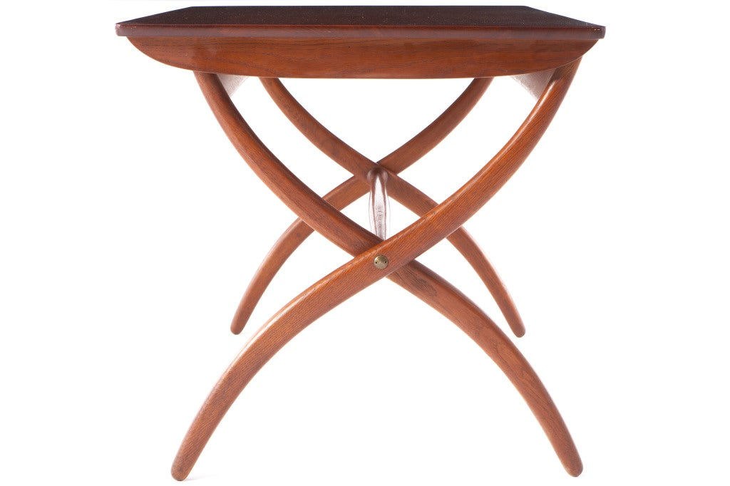 Mid-20th Century Ole Wanscher Folding Table For Sale