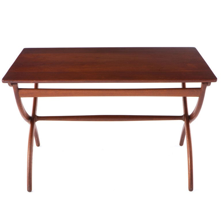 Ole Wanscher Folding Table For Sale